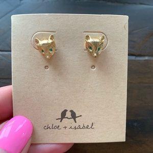 Chloe + Isabel Petite Fox Stud Earrings